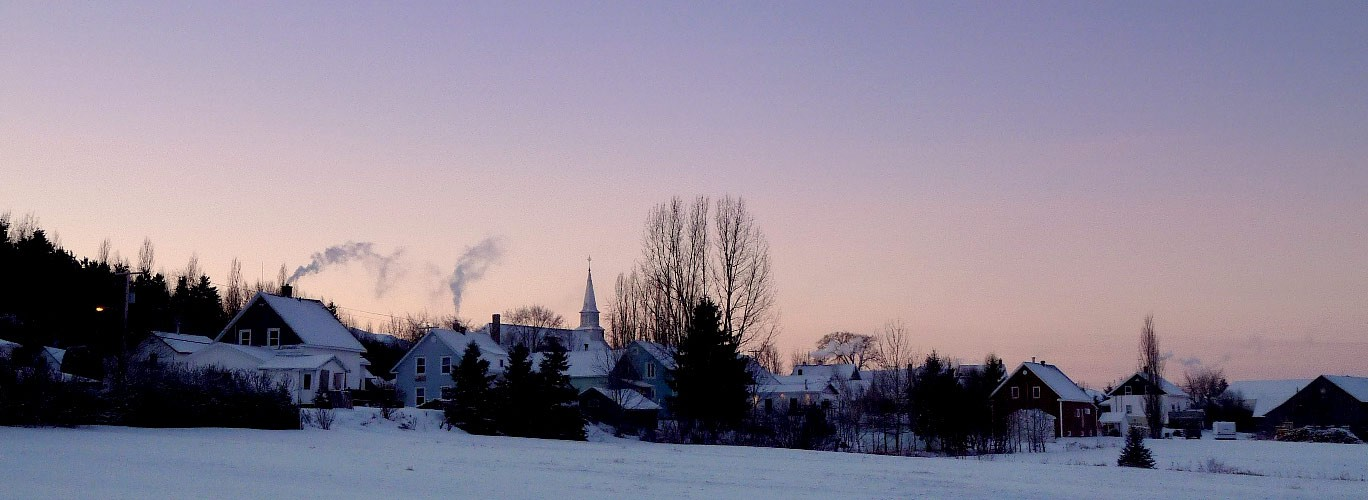 Héro - Village en hiver